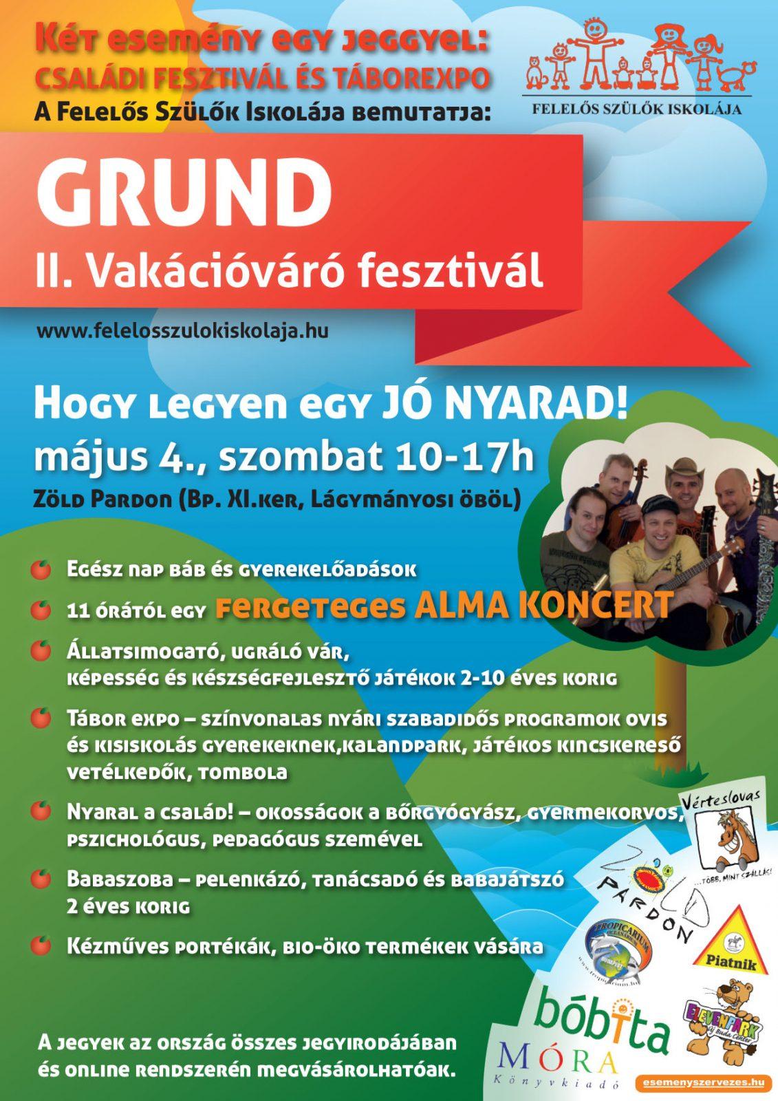 GRUND II. Vakációváró fesztivál