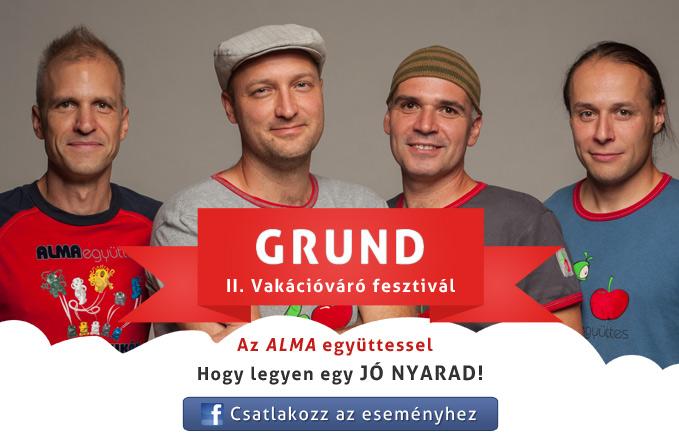Alma együttes a Grund vakációváró fesztiválon