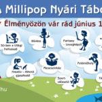 Vakációváró fesztivál Táborexpoján mutatkozik be a Millipop Mosolytábor