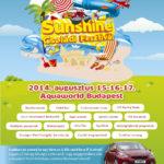 Sunshine Családi Fesztivál az Aquaworld-ben