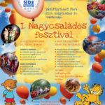 I. Nagycsaládos fesztivál a  Vasúttörténeti Parkban