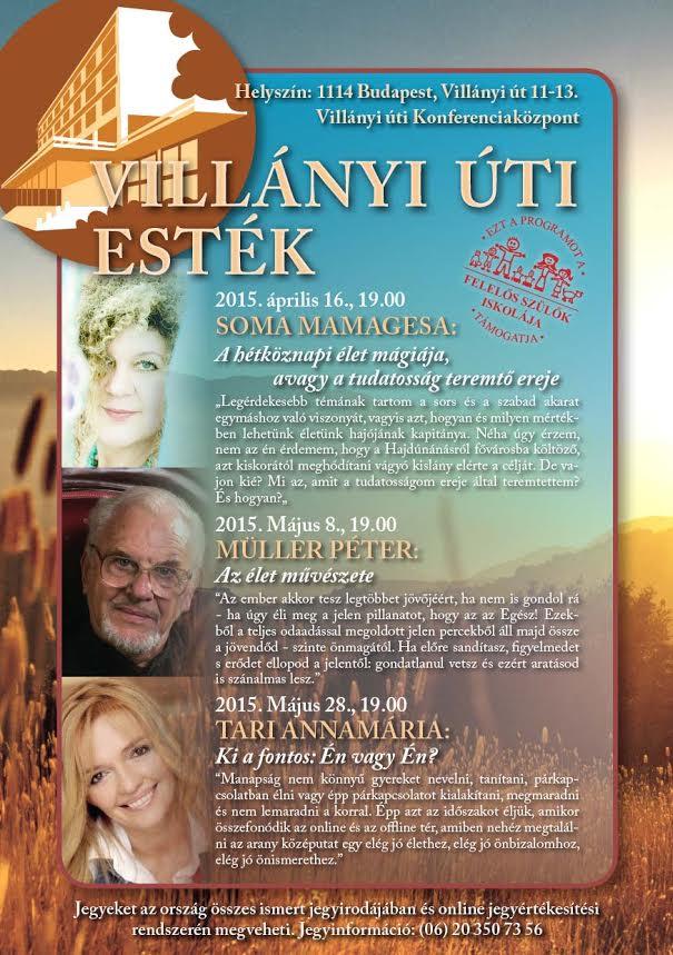 Villányi úti estékvillaniy-uti-estek