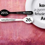 Nemzeti minimum – koncert a gyermekéhezés felszámolásért Magyarországon