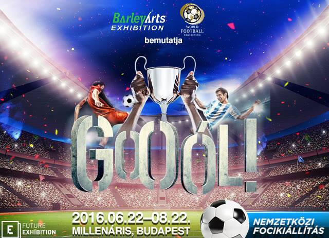 Megnyílt a GOOÓL focikiállítás a Millenárison