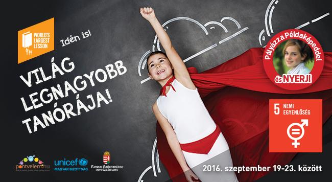 Magyarországon idén szeptemberben is megtartják a Világ Legnagyobb Tanóráját