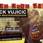 Nick Vujicic az iskolai zaklatások elleni kampányban