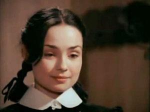Szerencs Éva mint Vitay Georgina az Abigél c. filmben