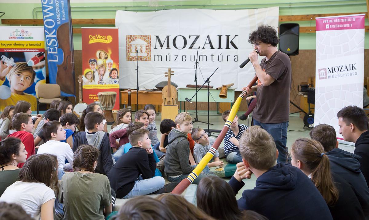 Gyereknapi forgataggal és velencei-tavi aktivitásokkal zárul a Mozaik Múzeumtúra tavaszi iskolai edukációs programsorozata