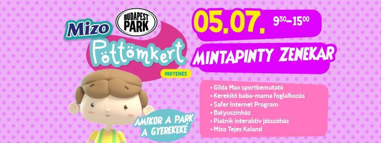 Újra a gyermekeké a Budapest Park – nyit a Mizo Pöttömkert