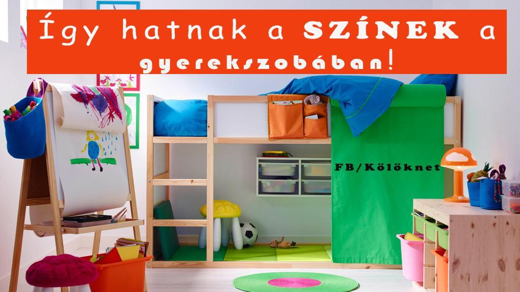 Így befolyásolhatod színekkel a gyerek nyugalmát! Nem mindegyik szín illik mindegyik gyerekhez!