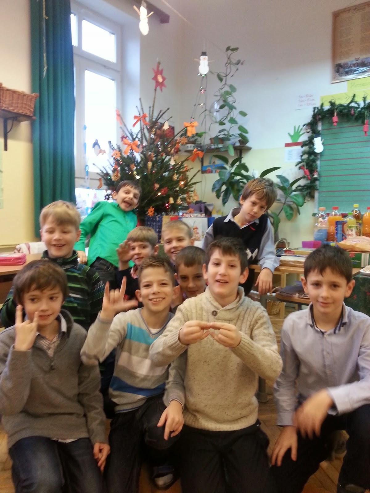 Osztálykarácsony – gimnáziumban