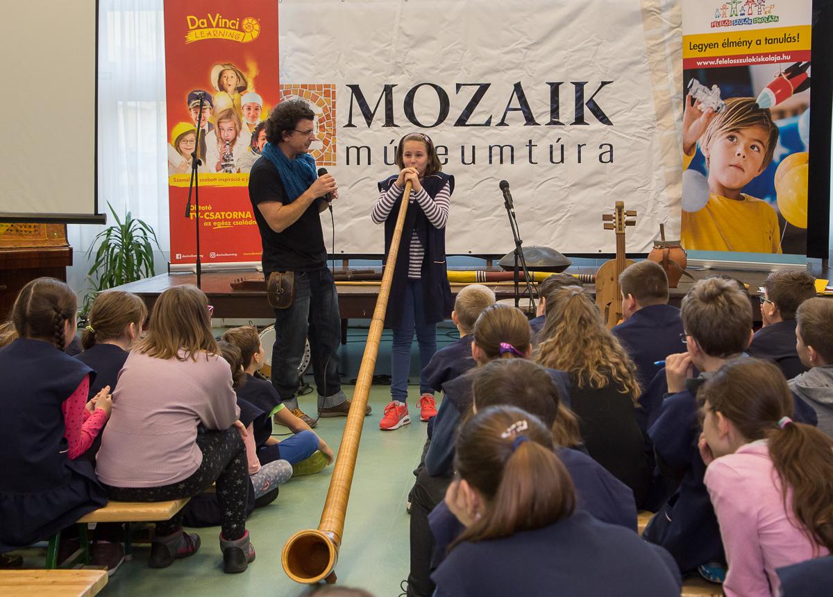A Mozaik Múzeumtúra iskolai programja a Városligetet is célba veszi