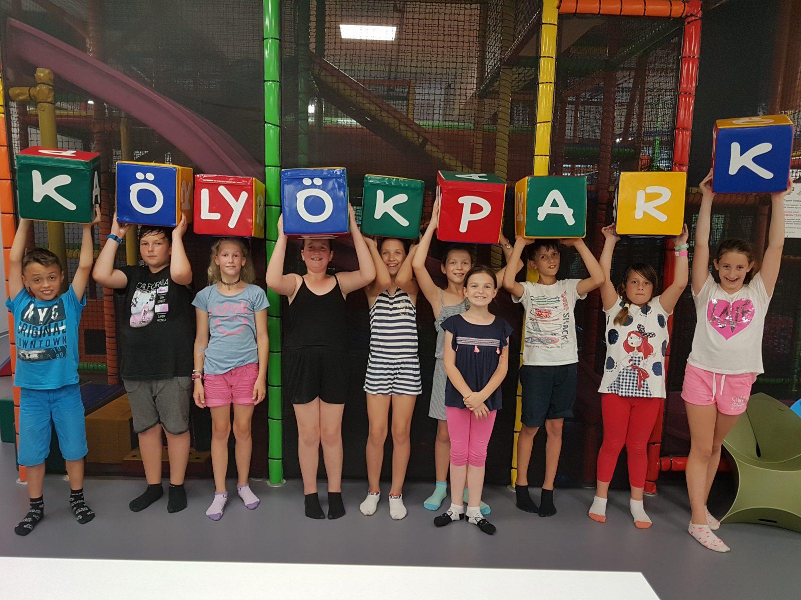 Vakációzz Nálunk! – Már Szolnokon is van Kölyökpark!