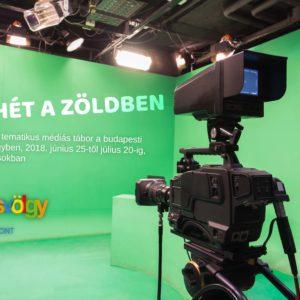 """Egy hét a """"zöldben"""" - Ingyenes médiás tábor a Bűvösvölgyben"""