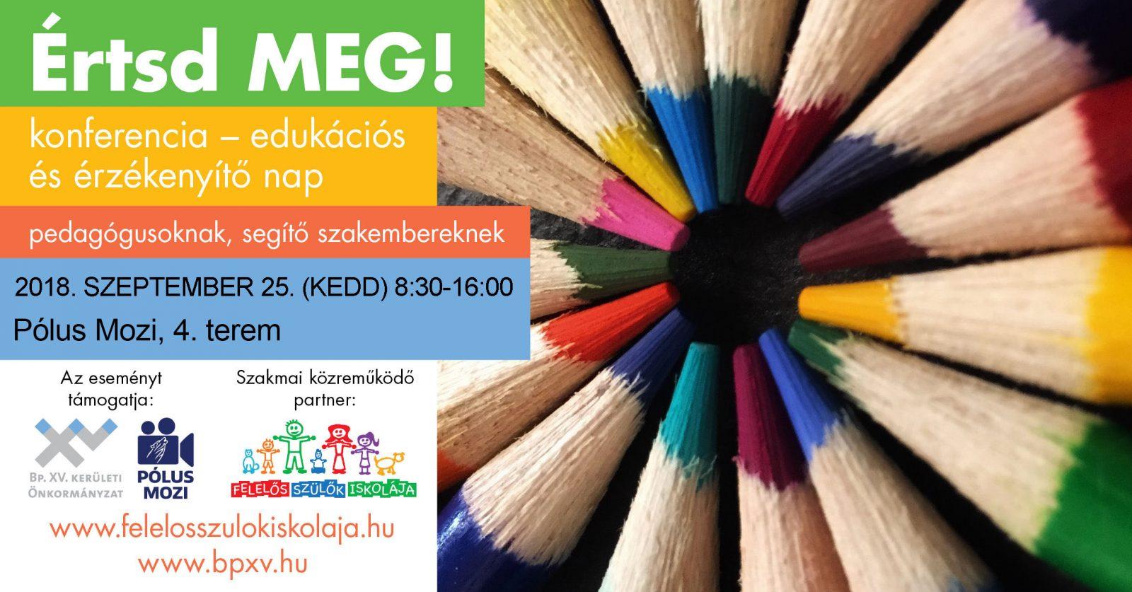 edukációs és érzékenyítő nap plakát