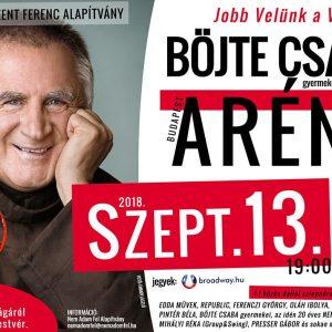 Jótékonysági koncert Böjte Csaba testvér munkásságának segítésére