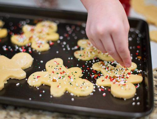 karácsonyi sütemények cukorral