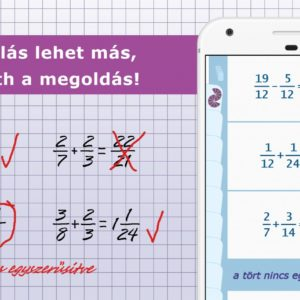 Tanárnak és diáknak is segít az új magyar matekapp