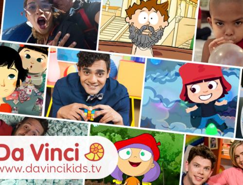 Da Vinci Kids plakátja