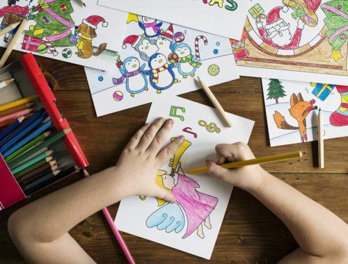 színes kifestők ceruzával