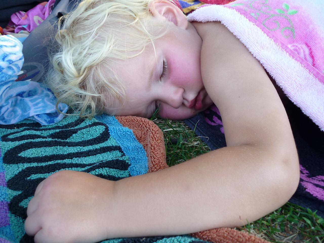 alvó gyerek