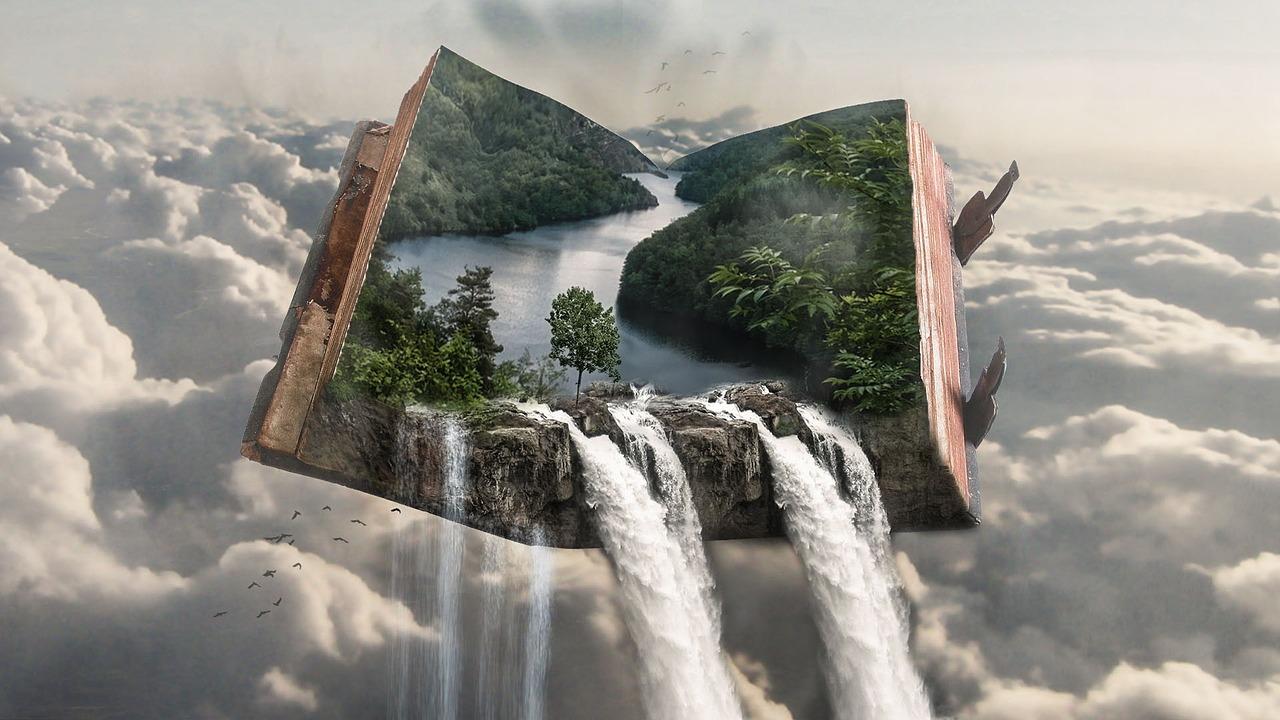 fantázia, valósággá váló könyv