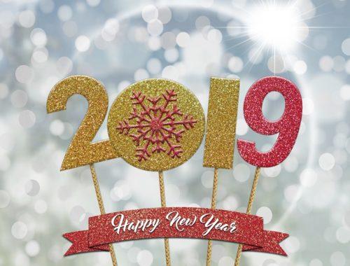 2019 boldog új évet