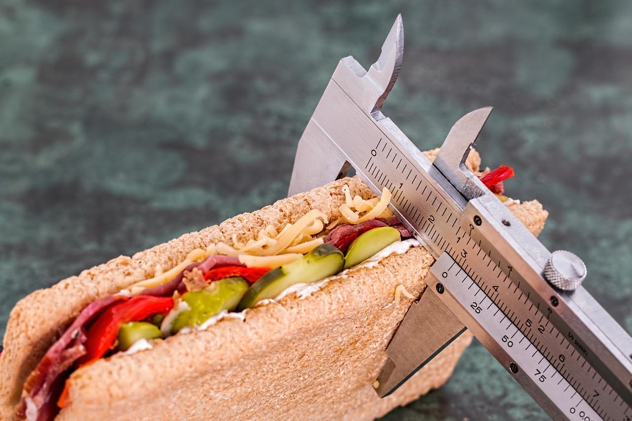sublerrel lemért szendvics