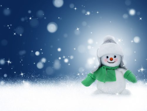 varázslatos hóember