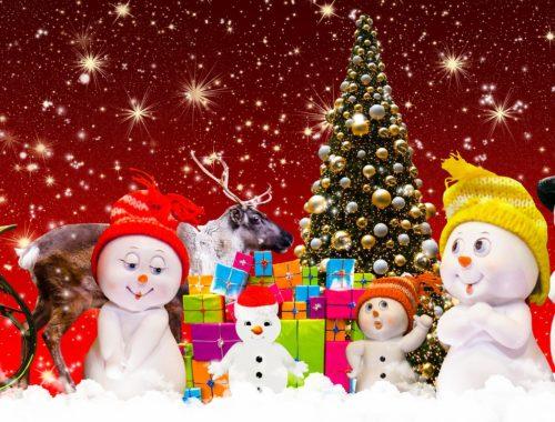 karácsonyi festmény