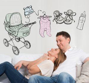 A várt várandóság ára, avagy a terhesség a pénztárcánál kezdődik
