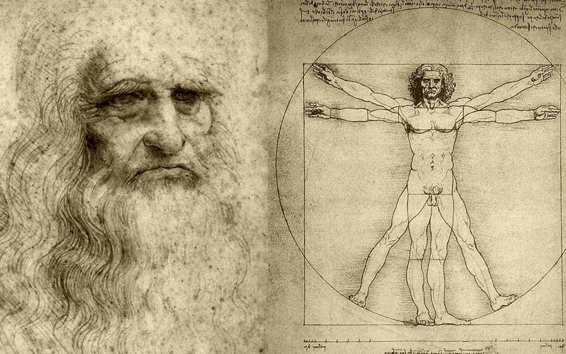 Leonardo Da Vinci tökéletes emberi test