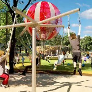 Ilyen lesz a városligeti nagy játszótér – videó