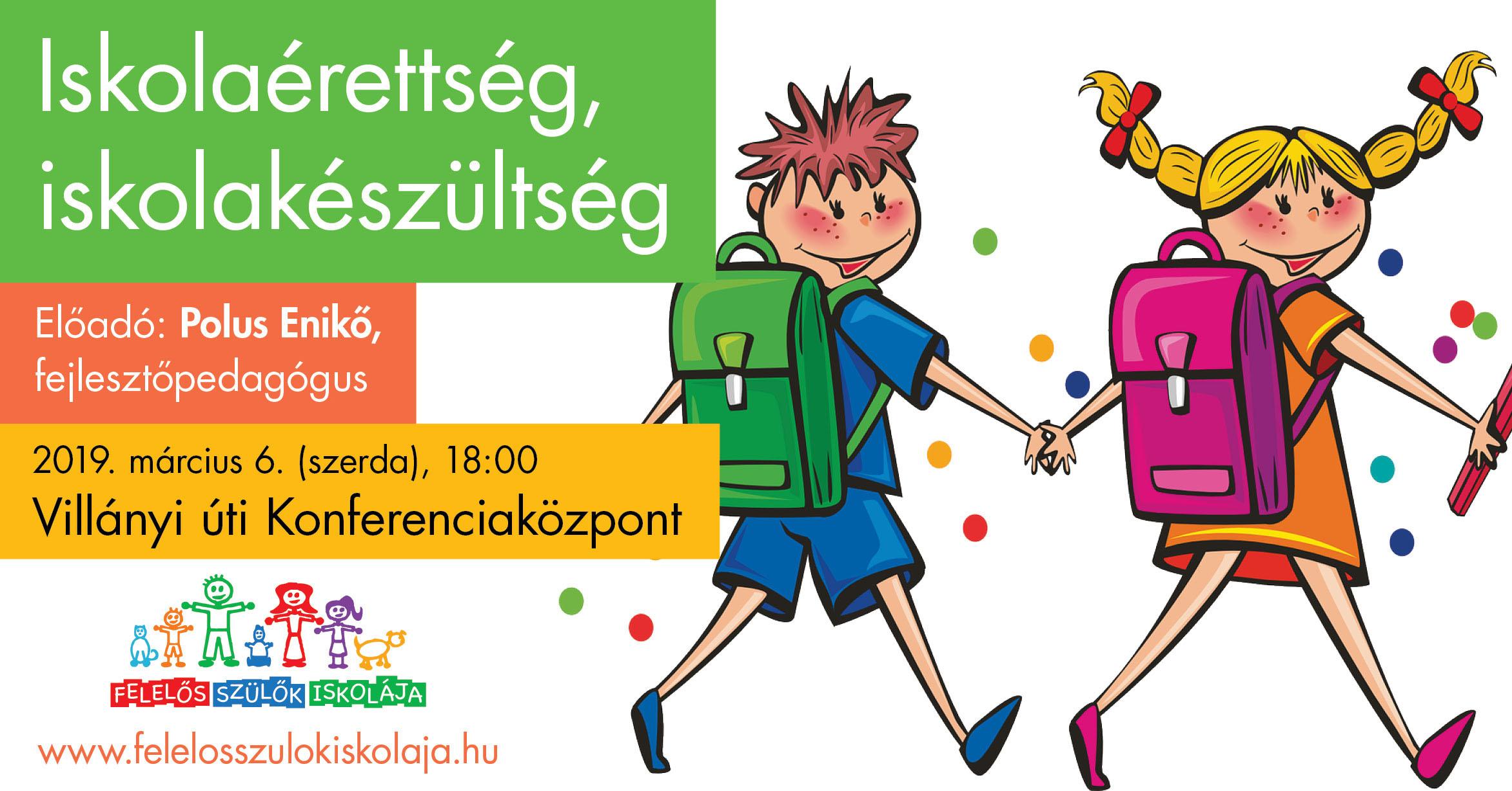Iskolaérettség, iskolakészültség plakát