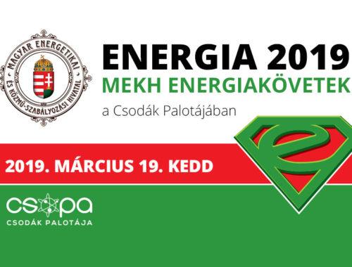 Energia 2019 plakát