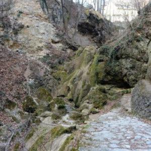 Kiszáradt a lillafüredi vízesés