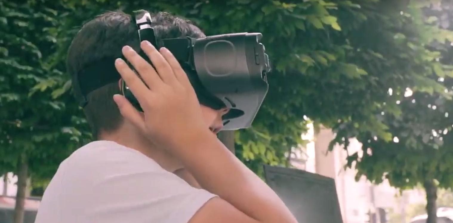 VR felszerelés, gyerek