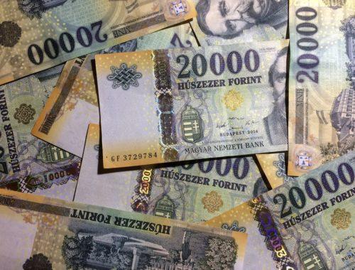 forint, húszezer 20000