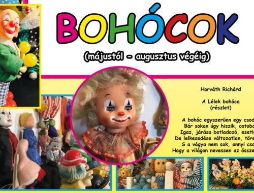 Plakát bohócokról