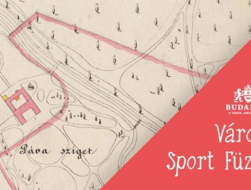 Páva sziget, térkép, városi sport füzet