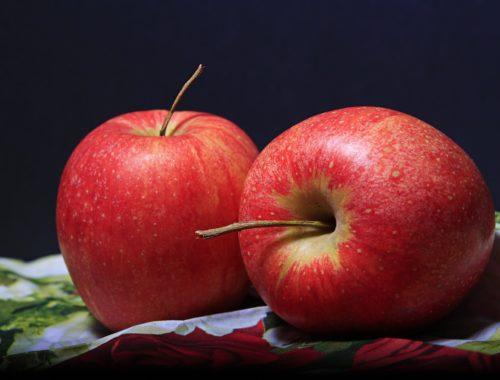 két almáról egy kép