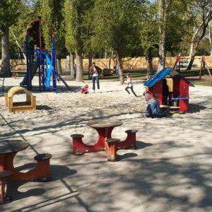 Ideiglenes játszóteret nyitottak a Városligetben
