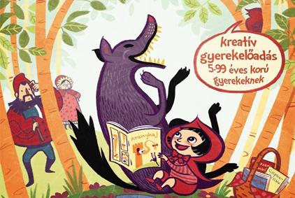 kreatív gyerekelőadás plakát