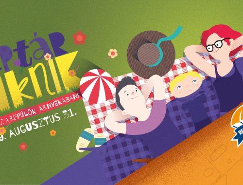 Reptár piknik plakát