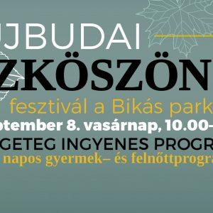 Ismét Őszköszöntő Fesztivál a Bikás Parkban - családi programokkal várnak egész nap