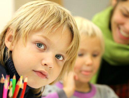 közeli fotó egy gyerek arcáról
