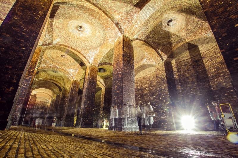 fotó egy föld alatti víztározóról