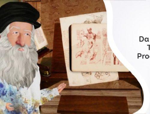 Leonardo da Vinci rajz