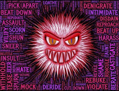 mérges fej