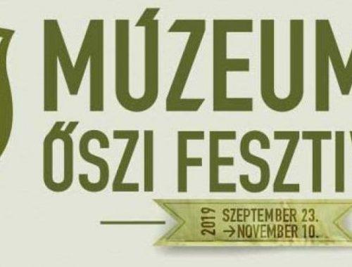 Múzeumok őszi fesztiválja plakát